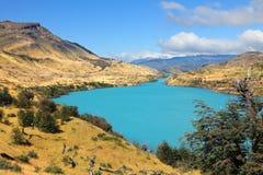 Cold river - the Rio Serrano royalty free stock image