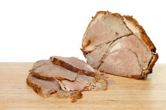 Cold roast beef Royalty Free Stock Photos