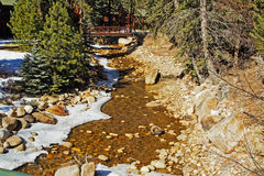 Cold Rocky Creek Royalty Free Stock Photography