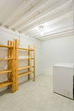Cold room in the basement Royalty Free Stock Photos