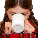 Cold, sick young woman Stock Photos