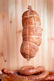 Cold smoked ham Stock Image