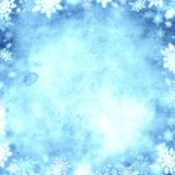 Cold snow christmas background texture Royalty Free Stock Photography