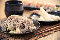 Cold soba Stock Photos