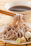 Cold soba Royalty Free Stock Image