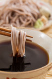 Cold soba Royalty Free Stock Images
