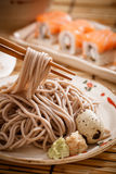 Cold soba Stock Photo