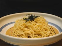 Cold soba of Seaweed Japan food. And dink stock photos