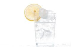 Cold soda glass Royalty Free Stock Photos