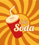 Cold soda Stock Photos