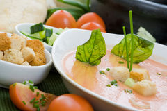 Cold soup Royalty Free Stock Images