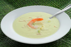 Cold Soup Royalty Free Stock Photography