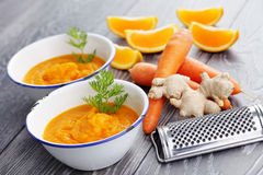Cold soup Stock Photography