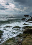 Cold Spring Waves Stock Images