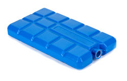 Cold storage, ice plate for the cooler bag! Stock Photo