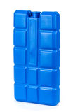 Cold storage, ice plate for the cooler bag. Stock Photo