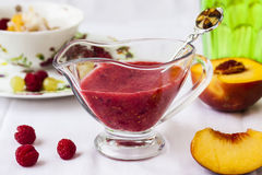 Cold summer dessert soup Royalty Free Stock Photography