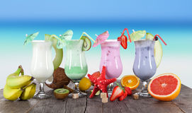 Cold Summer drinks Stock Photography