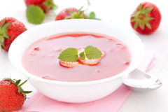 Cold sweet soup Royalty Free Stock Images