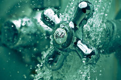 Cold tap Stock Images