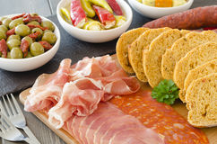 Cold Tapas Stock Photography