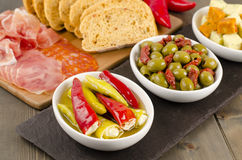 Cold Tapas Royalty Free Stock Photo