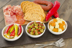 Cold Tapas Stock Images