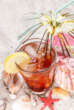 Cold tea Royalty Free Stock Image