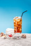 Cold tea Stock Photography