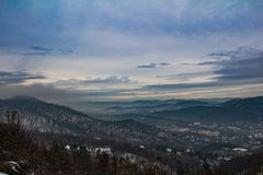Cold View royalty free stock photo
