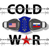 Cold War-Conflict Royalty Free Stock Image