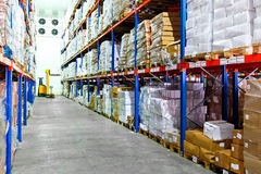 Cold warehouse Stock Photography