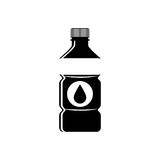 Cold water bottle Stock Photography