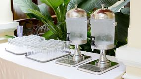 Cold water dispensers - water cooler Royalty Free Stock Photography