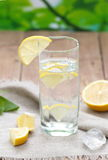 Cold Water with Lemon Royalty Free Stock Image