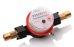 Cold water meters Royalty Free Stock Image