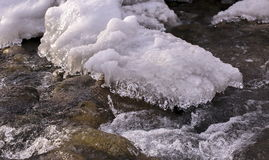 Cold water. Royalty Free Stock Image