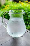 Cold water in the Water Pitcher Stock Images