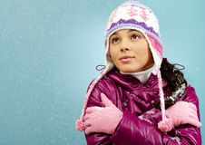 Cold weather Stock Image