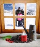 Cold winter. Stock Photos