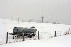 A cold winter's day in Bavaria Stock Photography