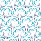 Cold winter vector pattern. Royalty Free Stock Photography