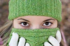 Cold Woman Stock Photos