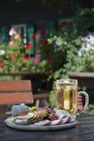 coldcuts πιάτο χυμού Στοκ φωτογραφίες με δικαίωμα ελεύθερης χρήσης