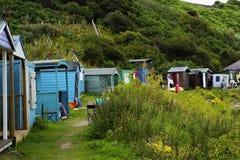 Coldingham沙子在苏格兰在英国, 07 08 2015年 免版税库存图片
