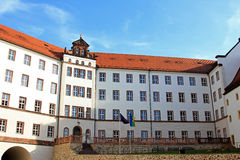 Colditz castle youth hostel Stock Photo