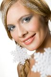 Coldness and elegance Royalty Free Stock Image