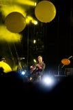 Coldplay en concierto fotografía de archivo libre de regalías