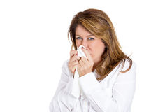 Colds and allergies Royalty Free Stock Photos