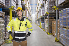 Coldstore worker Stock Photography